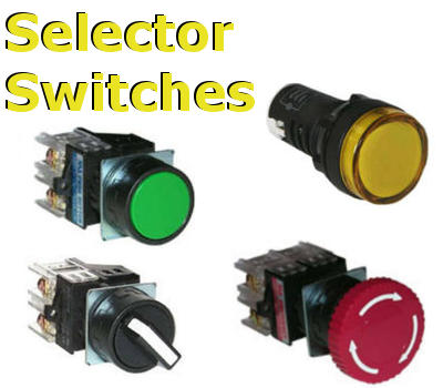 Industrial Selector Switches